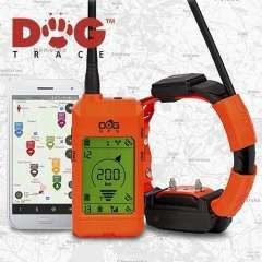 Collar localizador GPS Para Perros Dogtrace X30 color Naranja