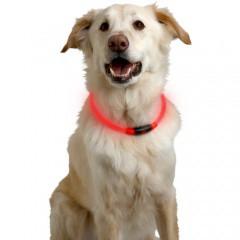 Collar LED para perros NiteHowl de plástico