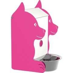 Comedero para perro color Rosa