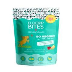 Galletas 100% naturales Flooppbites Go Veggie! para perros