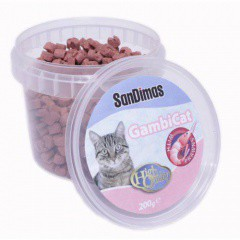 Gambicat Snack con gambas para gatos