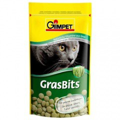 GrasBits comprimidos de hierba gatera para gatos