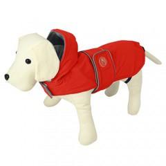 Impermeable para perros Dancing Rain rojo