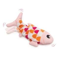 Juguete interactivo en forma de pez Groovy Fish para gatos color Rosa