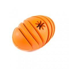 Juguete para perros TK-Pet Snacks & Play pelota de rugby portagolosinas