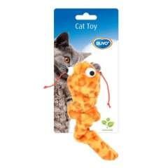 Juguete de peluche para gatos color Naranja