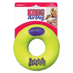 KONG Air Dog Squeaker Donut juguete para perros