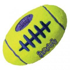KONG Air Dog Squeaker pelota ovalada para perros
