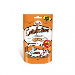 Snack para gatos Catisfactions pollo