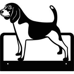 Mural Mod. beagle color Negro