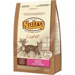 Nutro Natural Choice Light pienso para gatos con pavo
