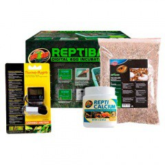 Pack de incubación y cría de reptiles