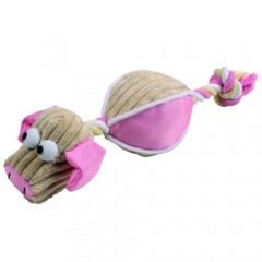 Pelota peluche con cuerda Doggy Ball