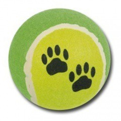 Pelota de tenis grande para perros