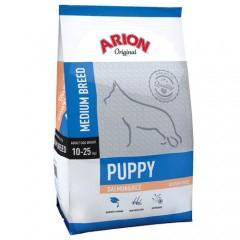 Pienso Arion Original de salmón y arroz para cachorros medianos
