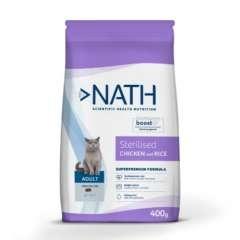 Pienso para gato Nath Adult Sterilised pollo arroz