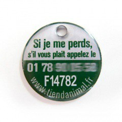 Placa de identificación Francia