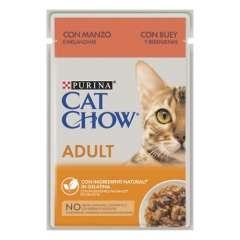 Purina Cat Chow buey en gelatina para gatos