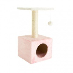Rascador para gatos TK-Pet Ara rosa