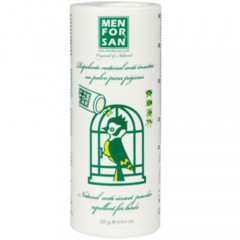 Repelente natural anti insectos en polvo para pájaros Menforsan