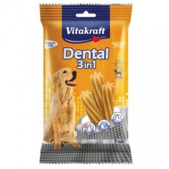 Snacks Dental Sticks 3in1 Vitakraft para perros medianos y grandes