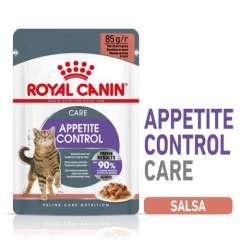 Sobre Royal Canin Appetite control care en salsa para gatos esterilizados