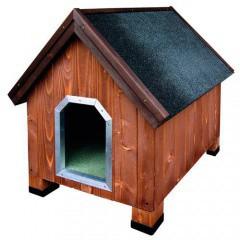 Caseta de madera para perros Alpine Madera