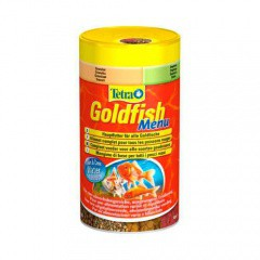 Tetra Goldfish Menu Mezcla premium