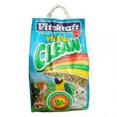 Vitakraft Vegetal Clean lecho higiénico para mascotas