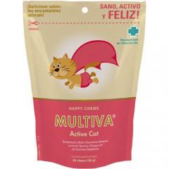 Vitaminas para gatos Suplemento Multiva Active Cat