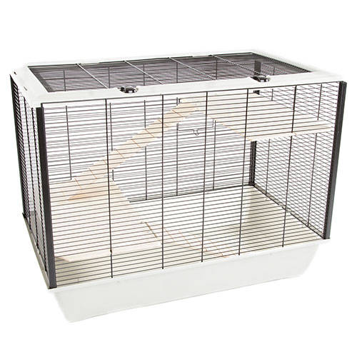 Cage for hamster Technical Pet Wood with 3 floors and wheel