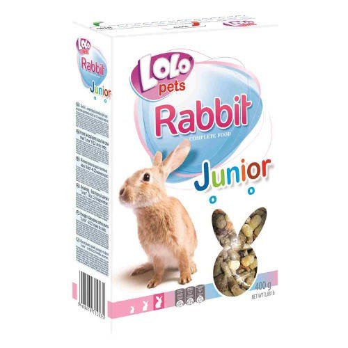 Lolo Pets full mixture for young rabbits