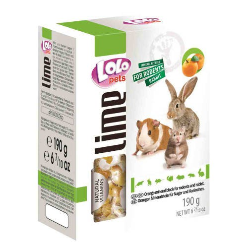 Lolo Pets Bloque Mineral XL para roedores