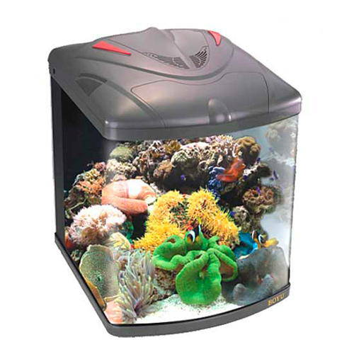 Marine nano reef aquarium complete kit tiendanimal for Saltwater fish tank kit