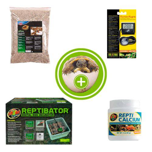 Pack of incubation and breeding of reptiles
