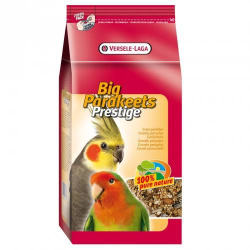 Versele laga Prestige big parakeet Stand up nymphs and lovebirds
