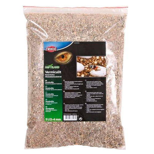 Vermiculite natural substrate for incubation of reptile 5 l trixie