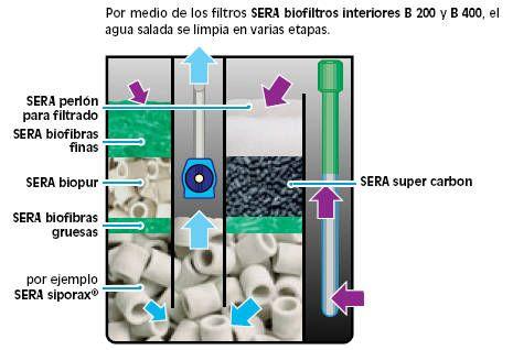Instalaci n de acuario de agua salada tiendanimal for Filtro acuario marino