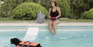 ¡Un día en la piscina con tu mascota!