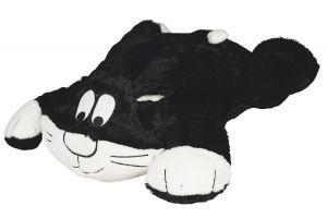 Peluche de gato para almohadilla calefactora sin cables
