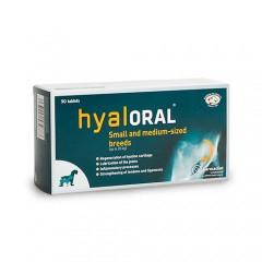 Condroprotector Hyaloral para razas pequeñas y medianas