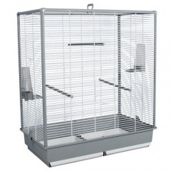 Jaula de cría para pájaros desmontable mediana