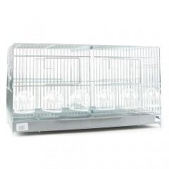 Jaula de cría para pájaros - 2 Departamentos