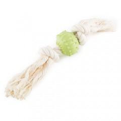 Juguetes para perros Pelota de caucho con cuerda