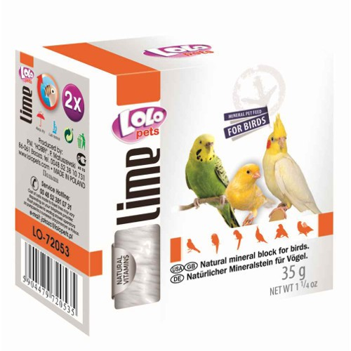 Lolo Pets bloque mineral pequeño para aves