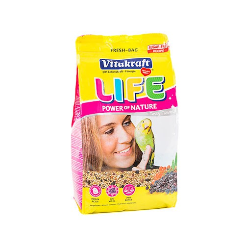 Vitakraft Men� Life para periquitos 800g