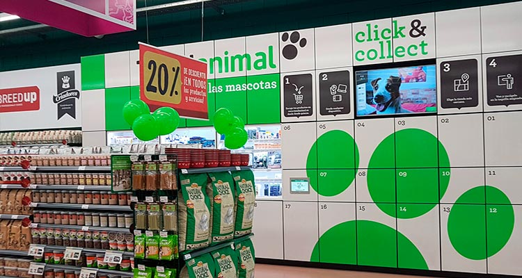 Click & Collect para animales en Murcia